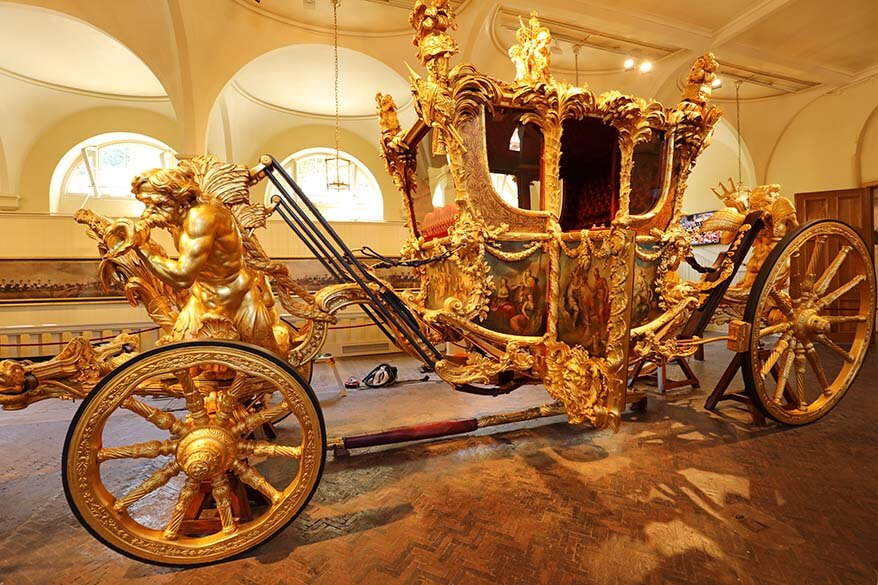 The Royal Mews is one of the best British Royal sights you can visit in London with children