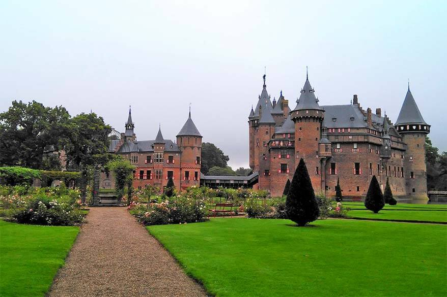 Utrecht is one of the best day tips from Amsterdam - Castle De Haar