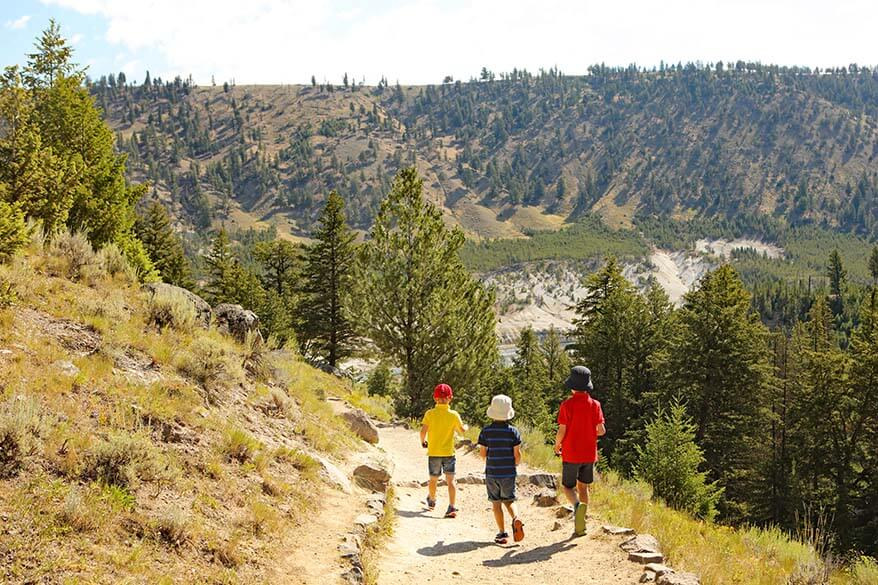What to wear and what to pack for Yellowstone in summer
