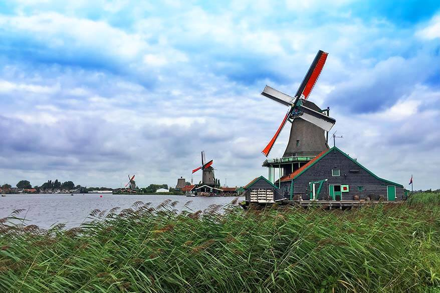 Zaanse Shans is one of the most popular day trips from Amsterdam