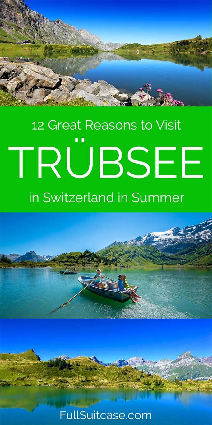 12 great reasons to visit Trübsee in summer - Engelberg, Switzerland