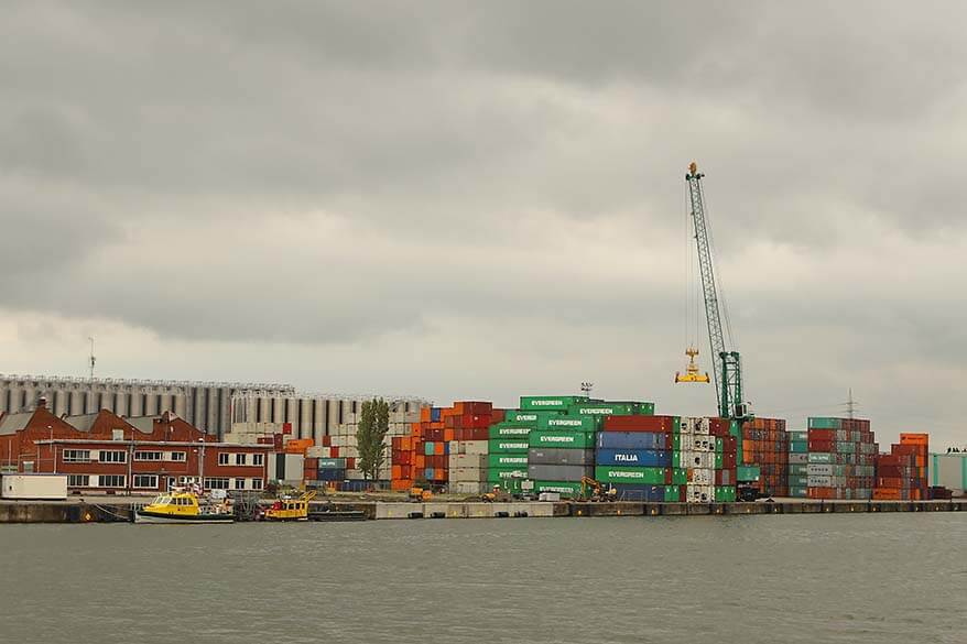 Port of Antwerp is the second-largest sea port of Europe