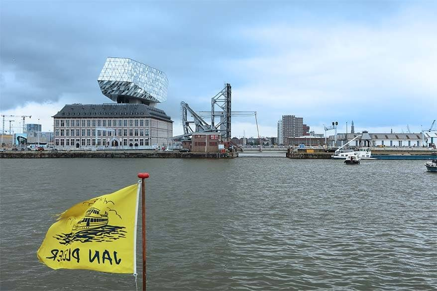 Port of Antwerp boat tour with Jan Plezier pancake boat
