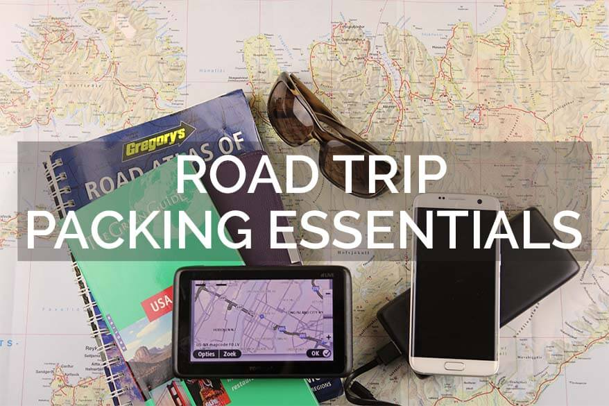 Summer road trip packing essentials for families traveling with kids