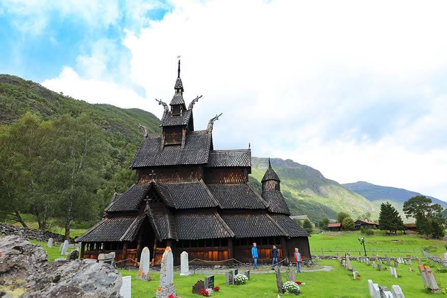 Borgund Stave Church in Norway