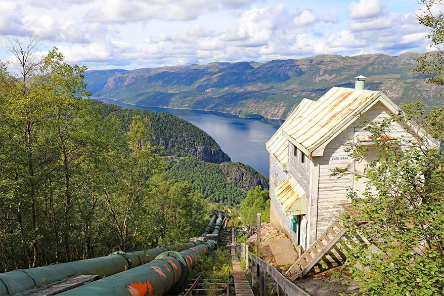 Epic Norway hike - Florli 4444 - longest wooden staircase in the world