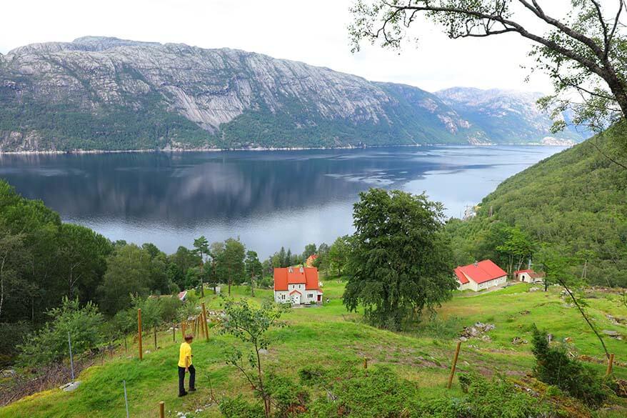 Hiking in Florli Norway
