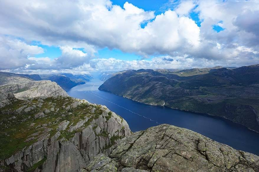 Lysefjord cruise and Preikestolen hike one day trip from Stavanger
