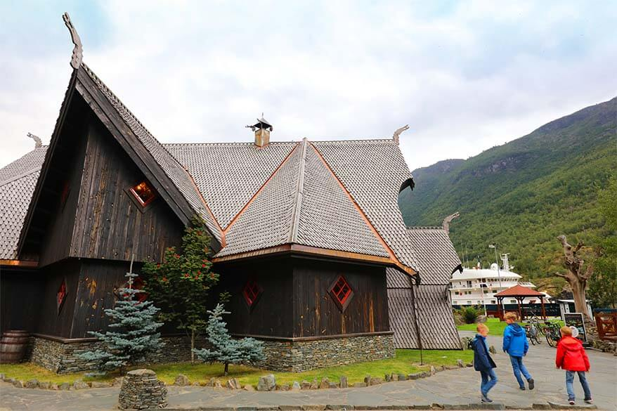 Aegir Brew Pub in Flam Norway