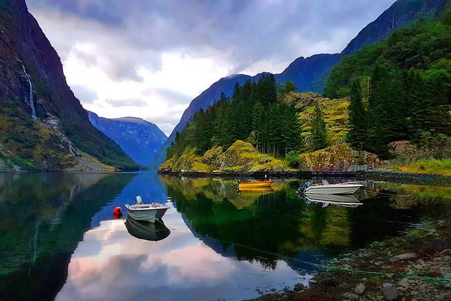 Naeroyfjord is undoubtedly one the places one must see when visiting Flam Norway