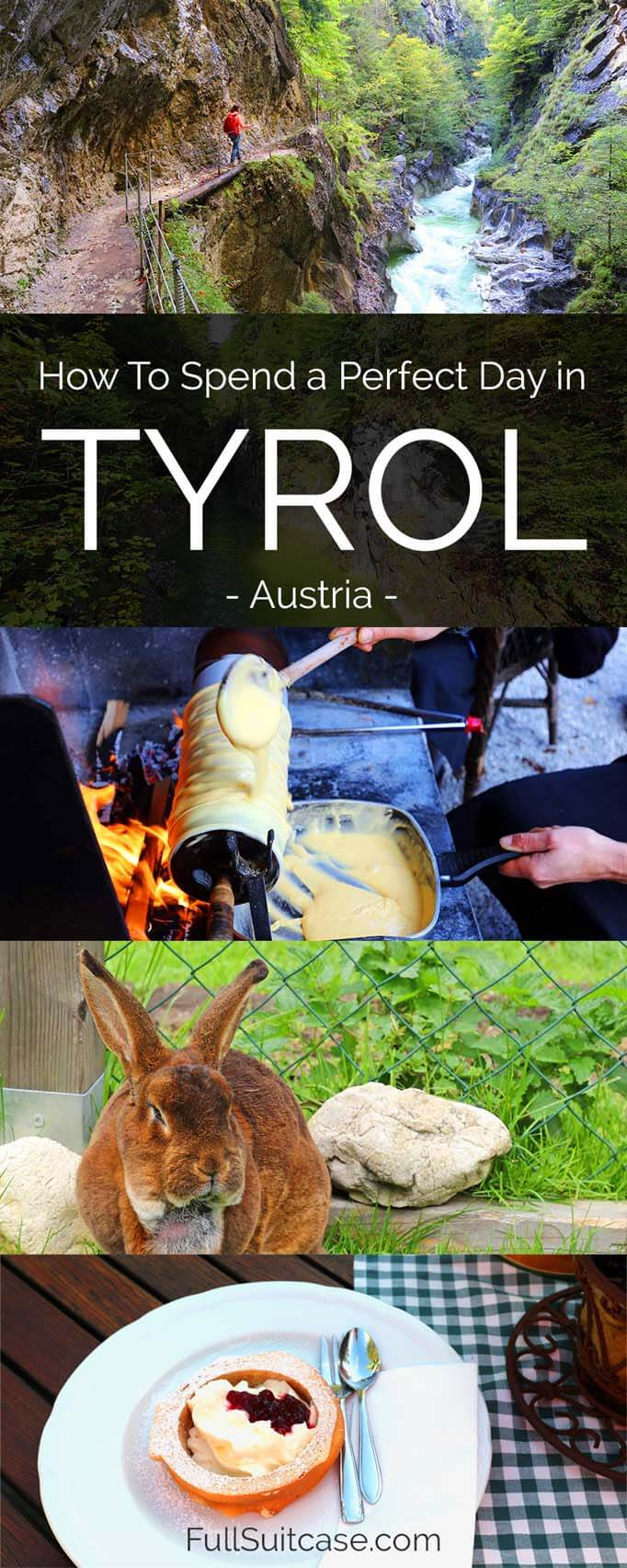 How to spend one day in Tyrol #Austria #Tirol