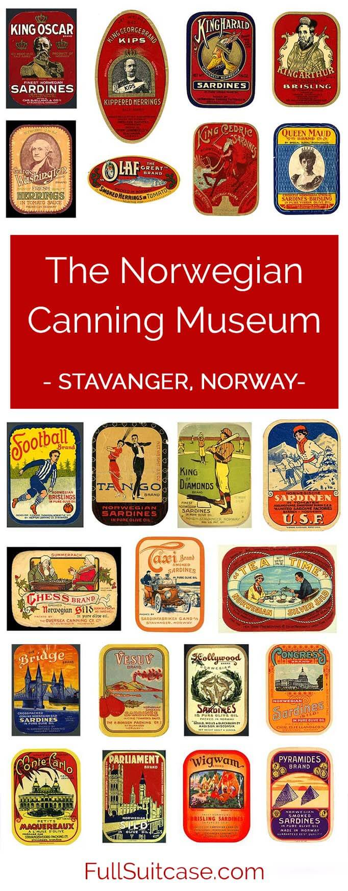 What to expect when visiting the Norwegian Canning Museum in Stavanger, Norway