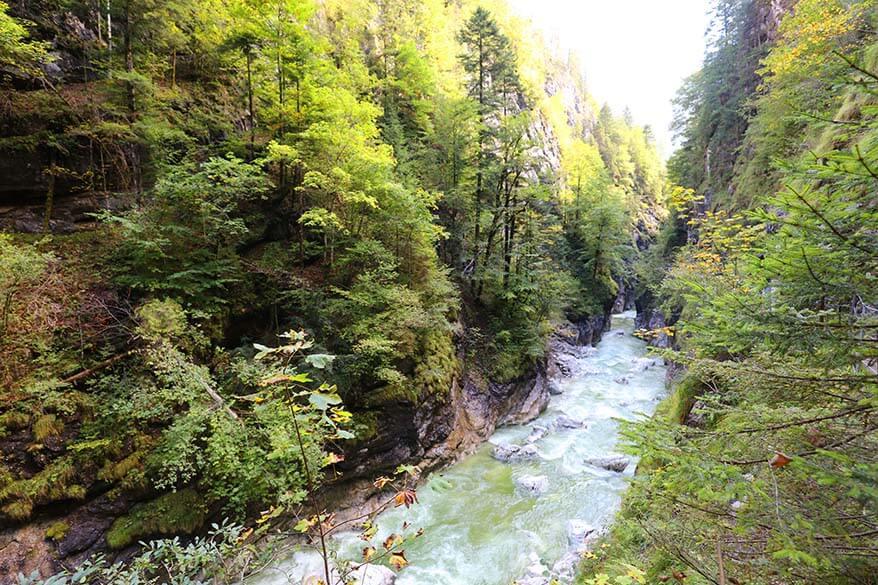 Kaiser Gorge (Kaiserklamm) in Brandenberg Austria