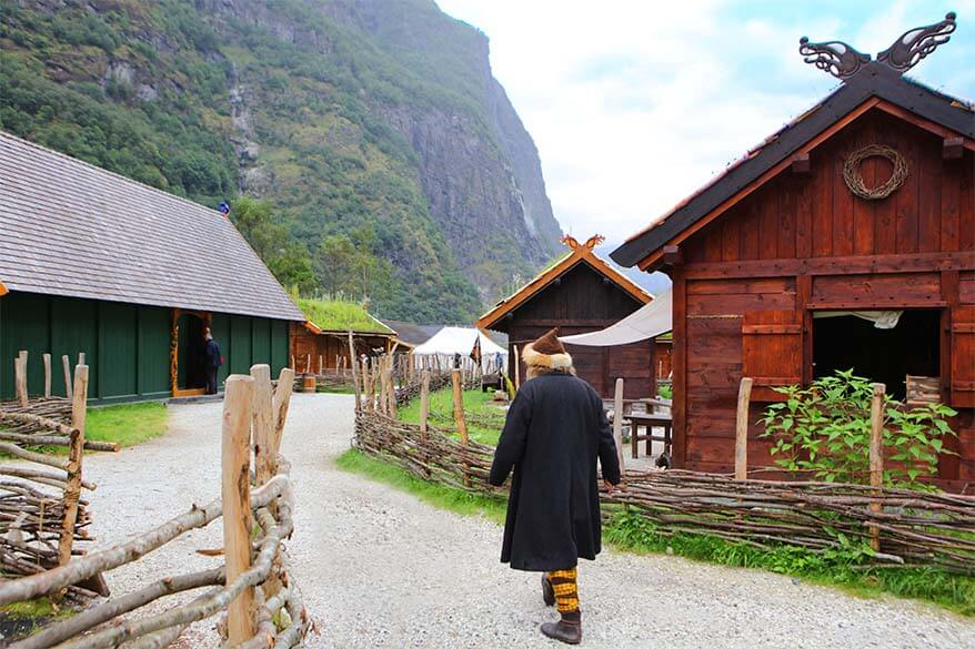 Viking Valley Njardarheimr in Gudvangen is one of the must see places in Flam area in Norway