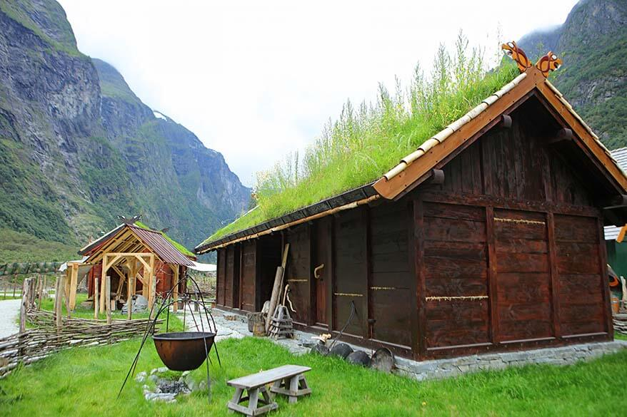 ... Viking Village Njardarheimr In Gudvagen Norway ...