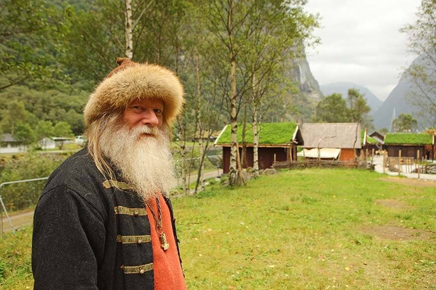 Visit the Viking Valley Njardarheimr in Gudvangen Norway and meet the real Vikings