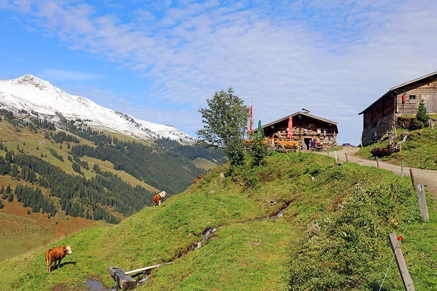 Austrian mountain chalet in Alpbachtal Tyrol