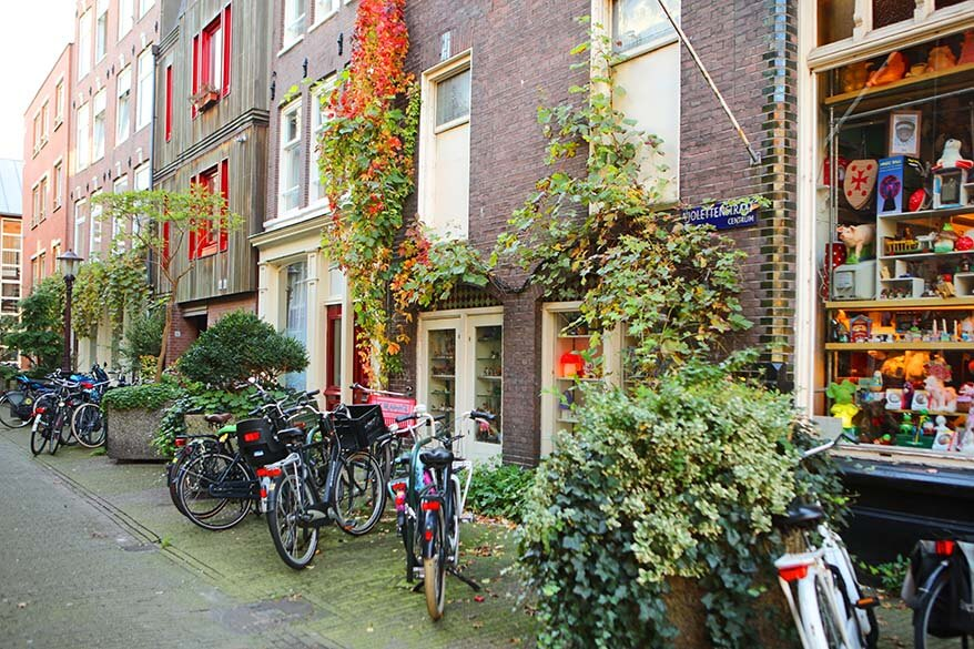 Jordaan neighbourhood in Amsterdam