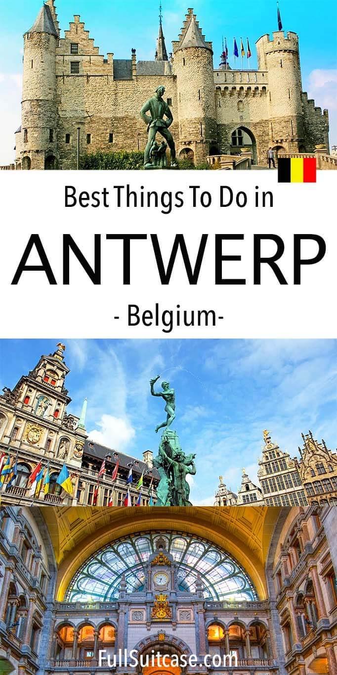 Things to do in Antwerp Belgium