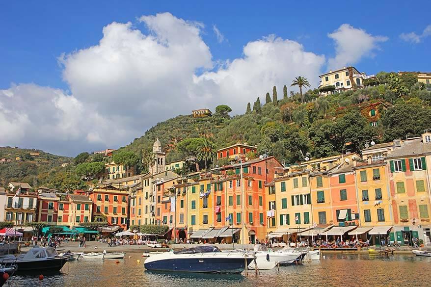 Portofino is the most picturesque village on the Itaian Riviera