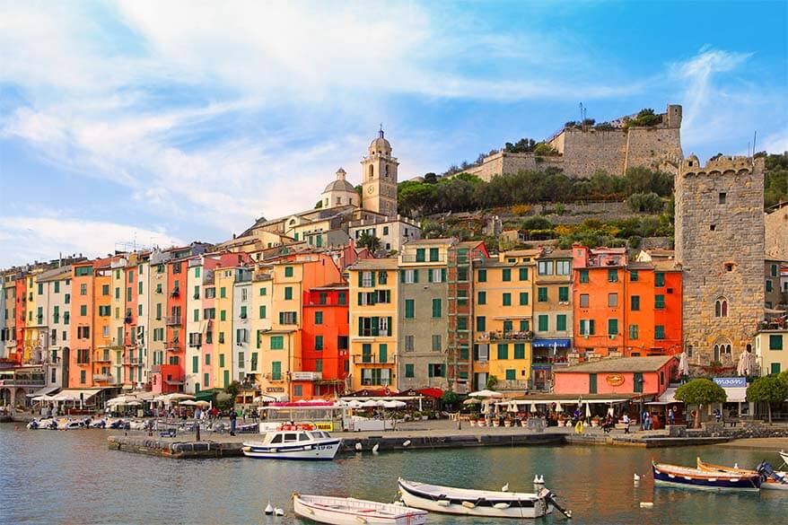 Portovenere is one of our favourite small towns on the Ligurian Coast in Italy