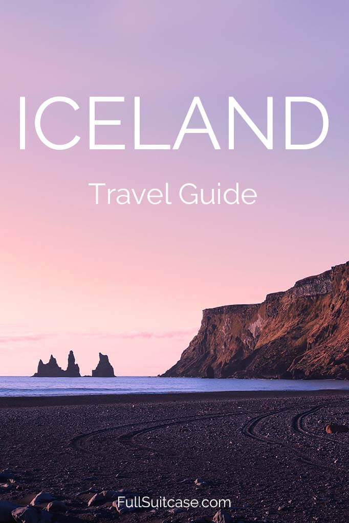 Complete travel guide with lots of practical information and tips for visiting Iceland #iceland #icelandtravel