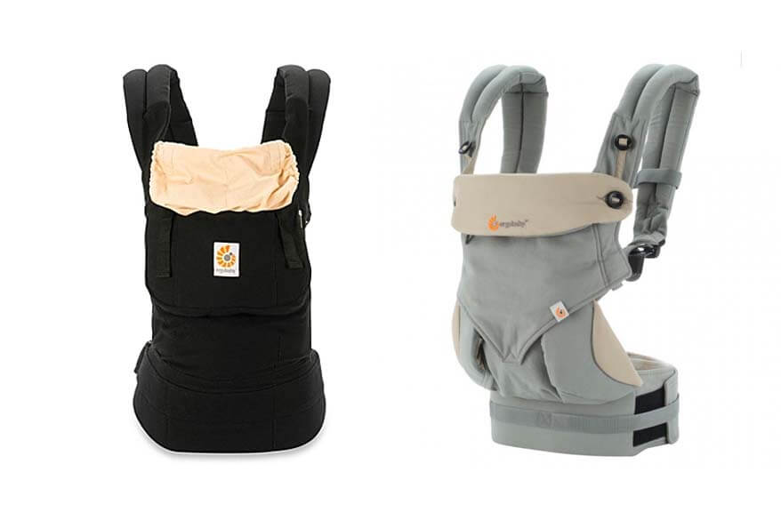 ergobaby carrier is the best baby carrier for traveling families