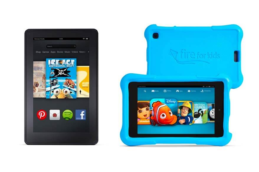 A digital tablet is one of the best ways to keep the kids busy when traveling
