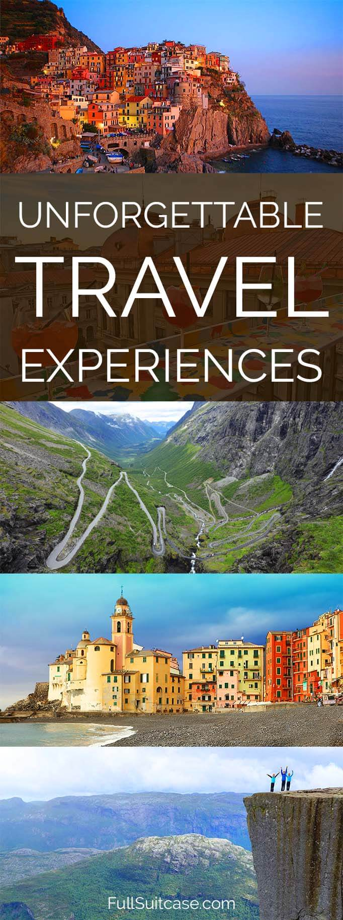Unforgettable travel experiences - best of the year in travel