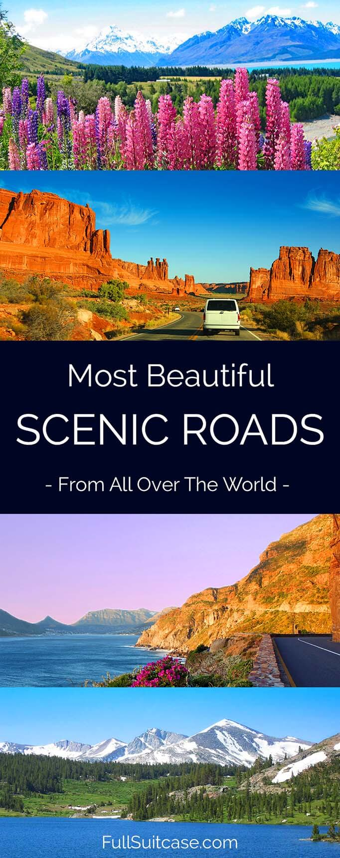 17 most beautiful scenic drives and road trips from all over the world