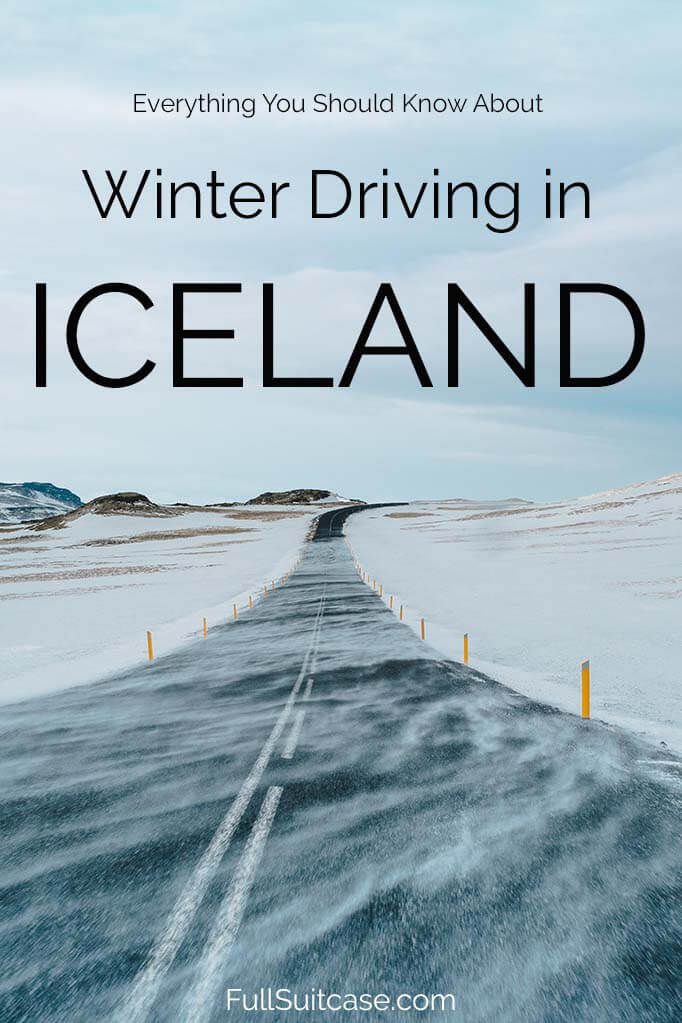 Driving in Iceland in winter (October through April) - all your questions answered