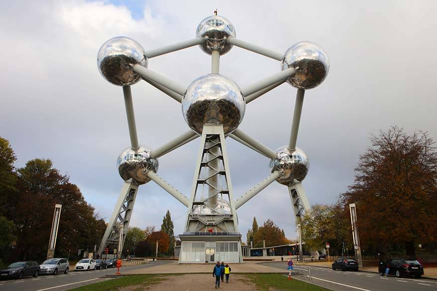 Atomium is not to be missed in Brussels