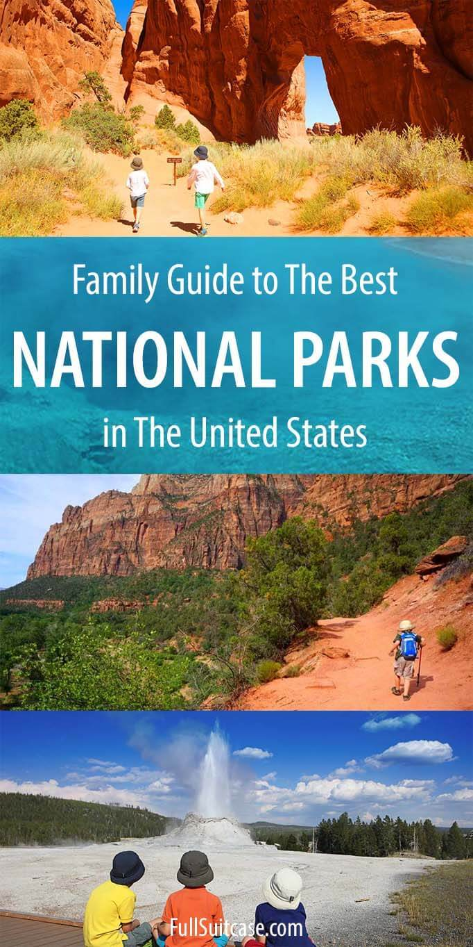 Best National Parks to visit for families with kids in the United States of America