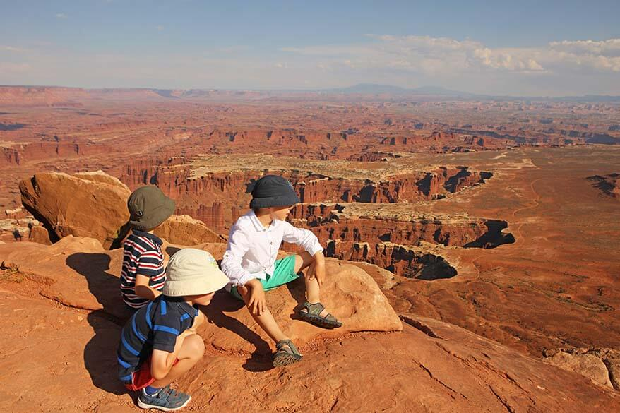 Canyonlands National Park is one of less visited gems in Utah