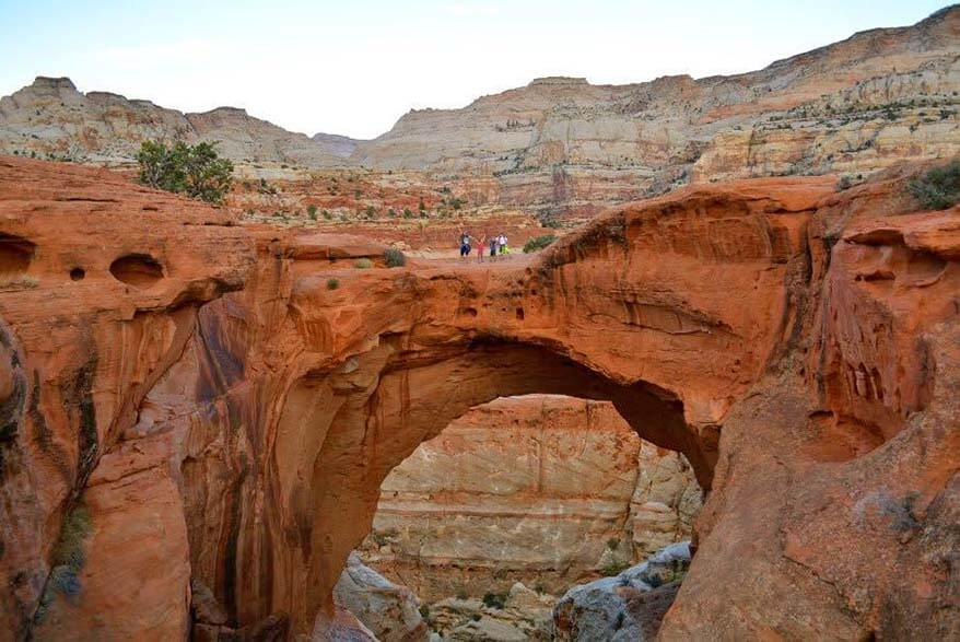 Capitol Reef National Park in Utah is perfect for a family vacation