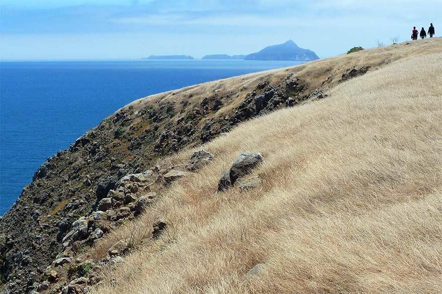 Channel Islands NP in California is great for families with kids