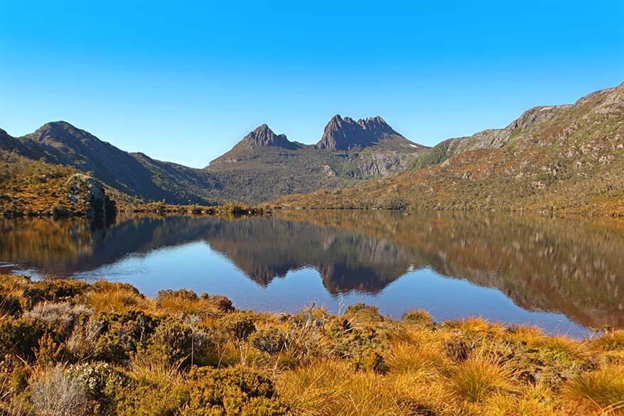 Cradle Mountain National Park in Tasmania
