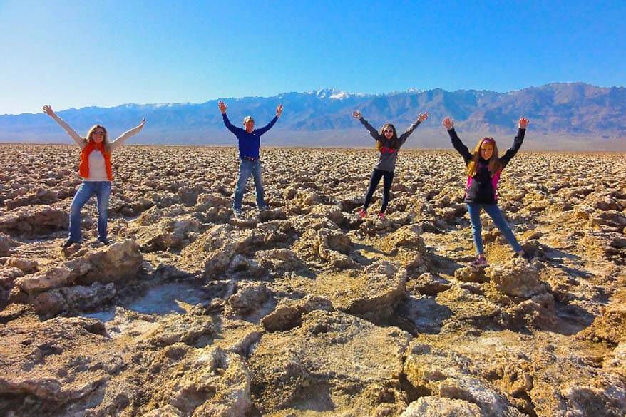 Death Valley is great for families with kids