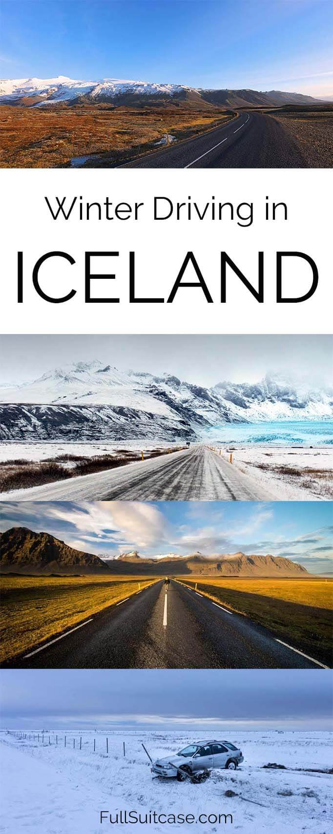 Everything you may want to know about winter driving in Iceland