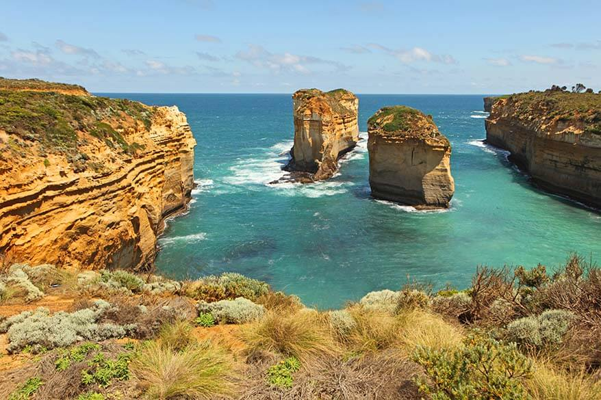 The Great Ocean Road is one of the must see places in Australia