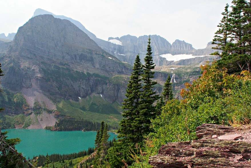 Grinnell Lake - Glacier National Park