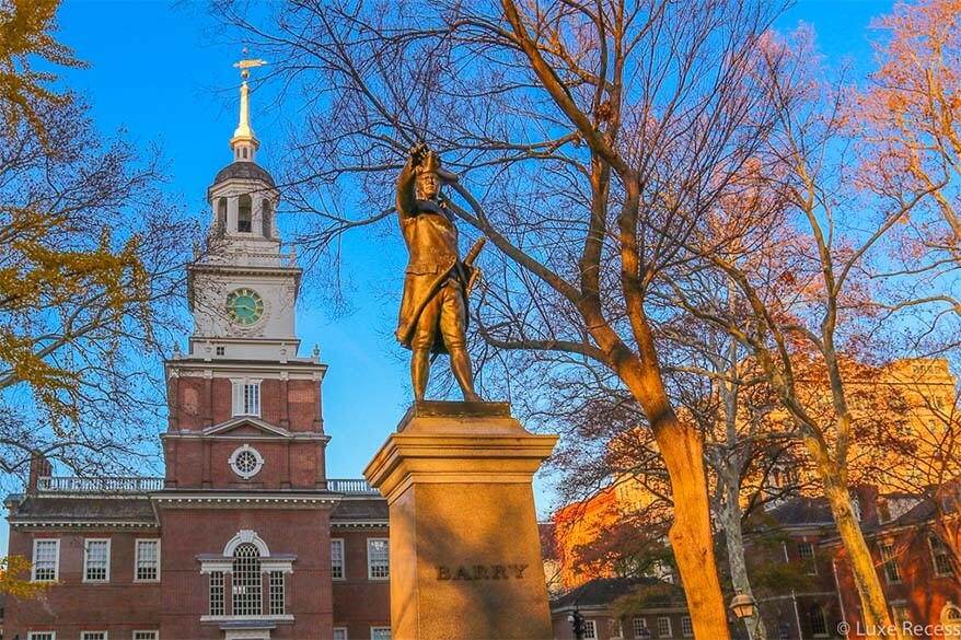 Independence National Historical Park in Philadelphia