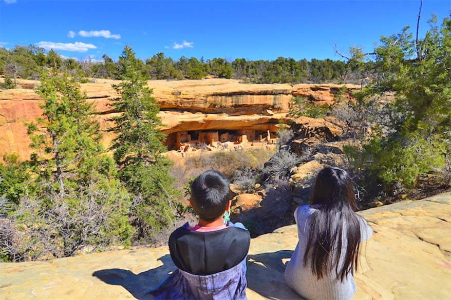Mesa Verde National Park is great for families with kids