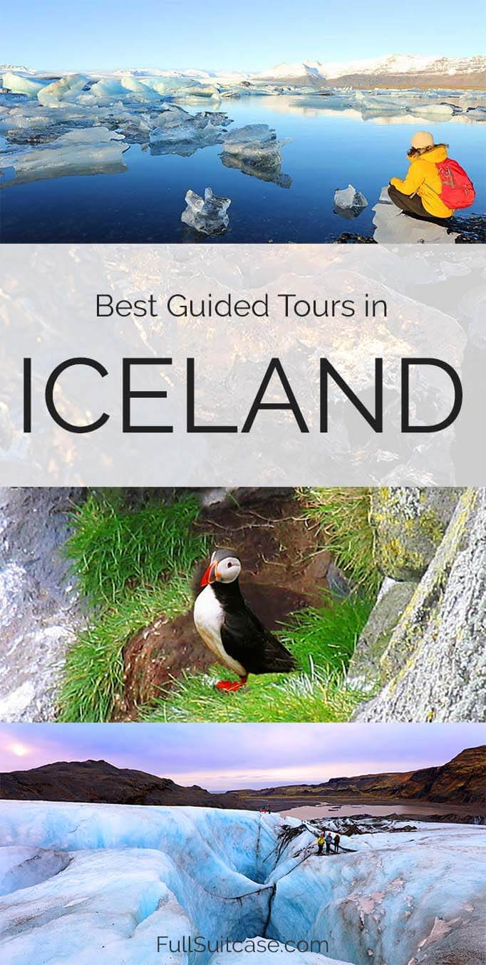 Most popular guided tours, day trips and excursions in Iceland in spring, summer and autumn