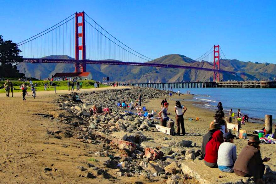 Presidio of San Francisco is a great lesser known National Park with plenty to do for families