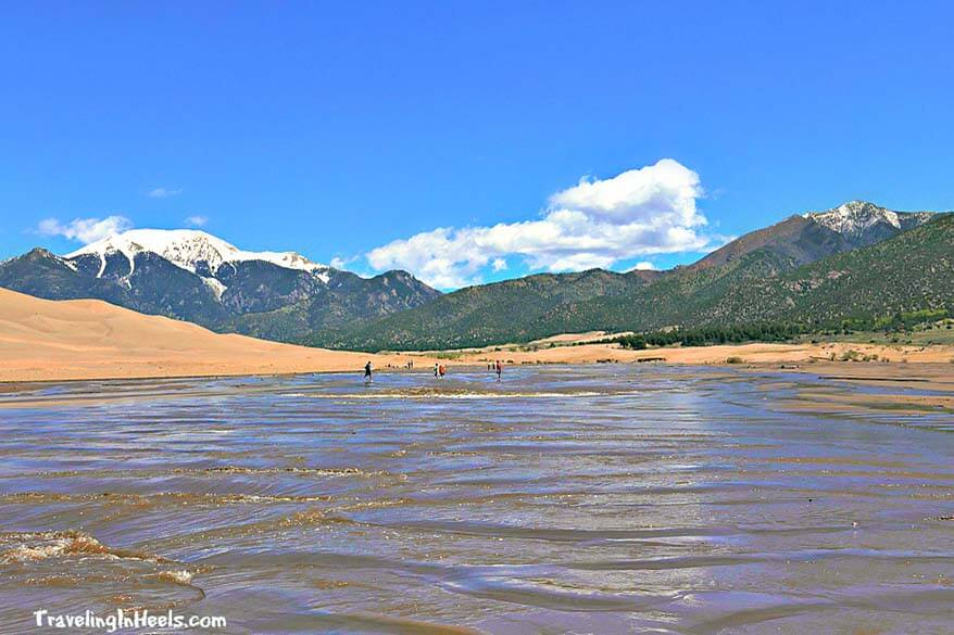 Great Sand Dunes National Park is a very family friendly destination