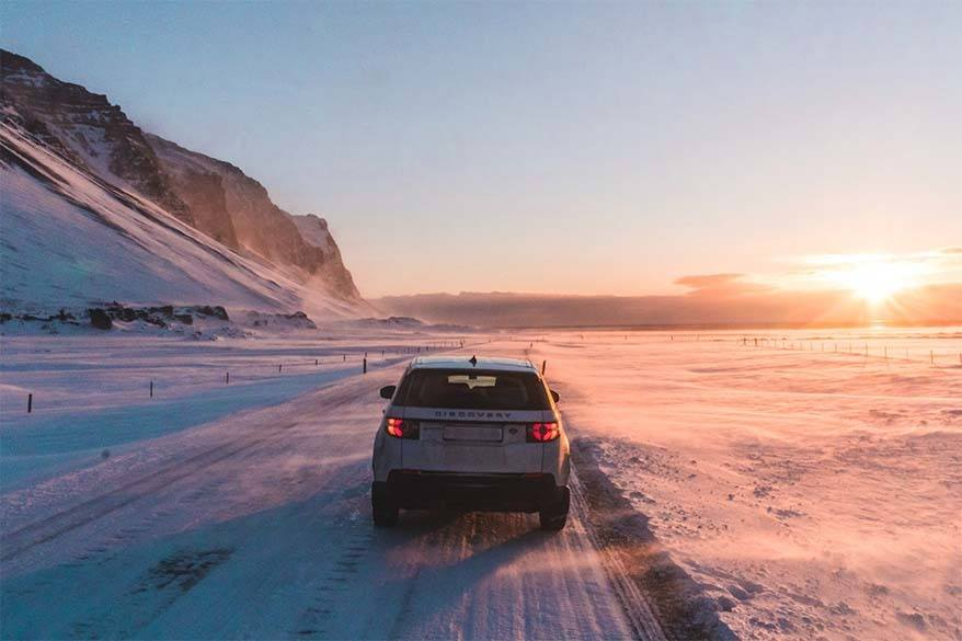 Tips for a self-drive Ring Road trip in Iceland in winter