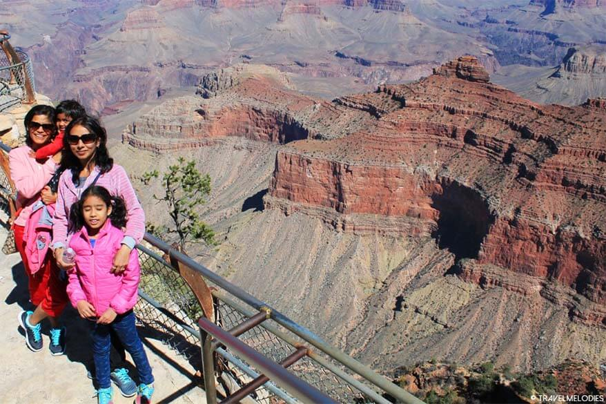 Visiting Grand Canyon National Park with children