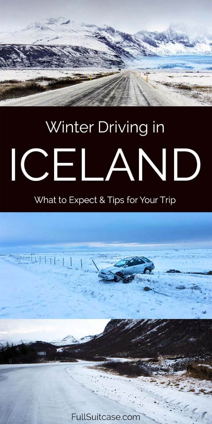 What to expect when driving in Iceland in winter months - along the Ring Road from October through April and even May
