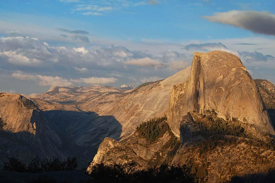 Yosemite National Park in the United States